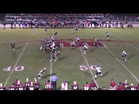 Joey Ivie Football Highlight 2011, Defensive Tackle/End
