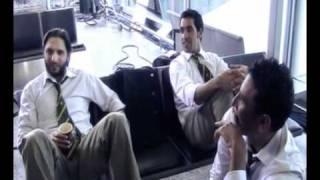Shahid Afridi, Abdul Razzaq, Younis Khan, Shoaib Akhtar and Umar Gul play at airport thumbnail