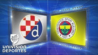 Dinamo Zagreb 4-1 Fenerbahçe - GOLES Y RESUMEN - Grupo D Europa League