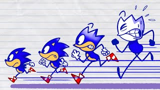 Max vs Sonic the Hedgehog: remarkable escape from Dr Robotnik