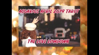AQUARIUS ♒️ LOOK WHO'S BACK FOR SECONDS APRIL 2019 TAROT