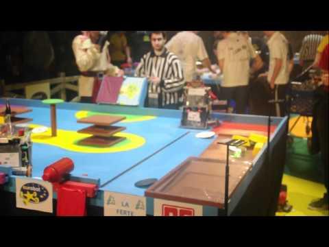 telecom robotics vs LinuxTeam 2012