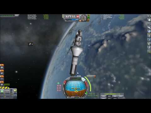 Kerbal Space Program 1.1 - Ep.7 - Scansat, a polar orbit and the South pole.