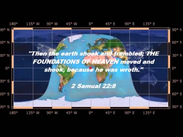 Square Earth Map.The True Flat Earth Model In The Beginning
