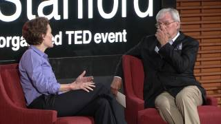 A daughter to father heart-to-heart: Tom & Jennifer Brokaw at TEDxStanford