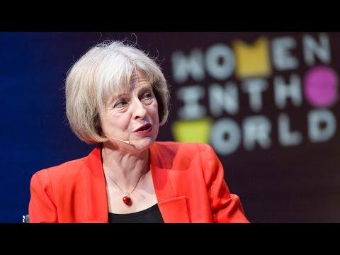 Theresa May: Fearless woman at the top