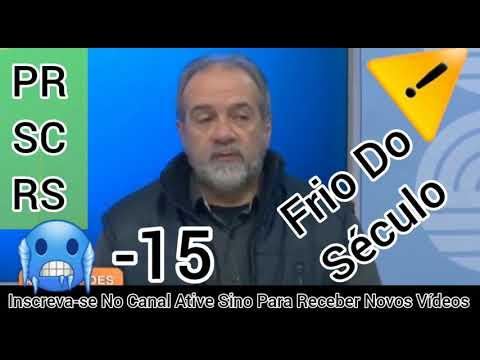 ⚠️ FRIO DO SÉCULO CHEGANDO ?? ?                                                          olhocerto
