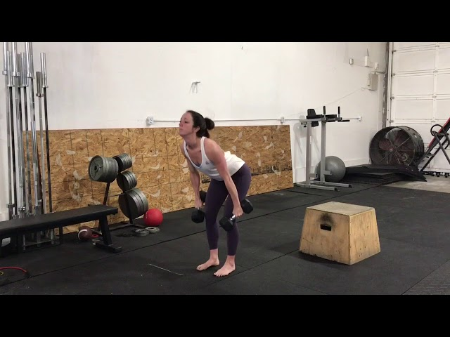 DB Hang Cleans