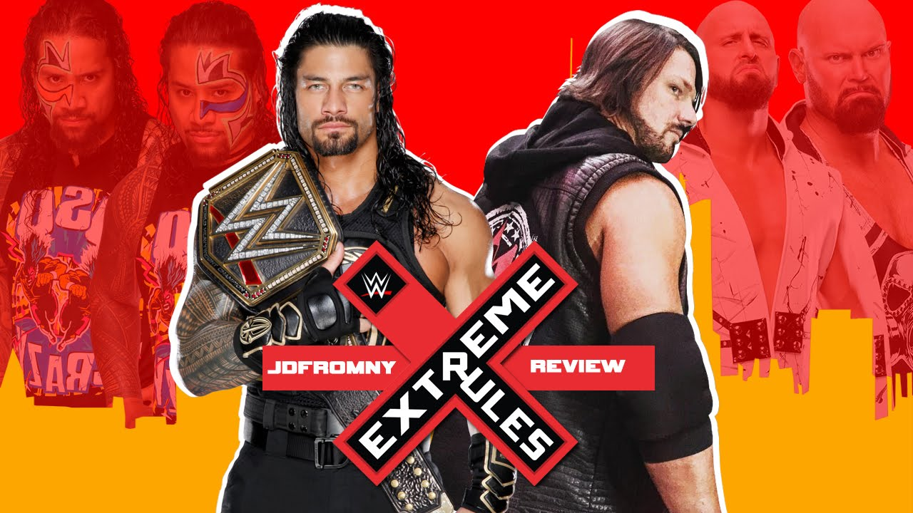 Wwe extreme rules 2016 5 22 16 review results