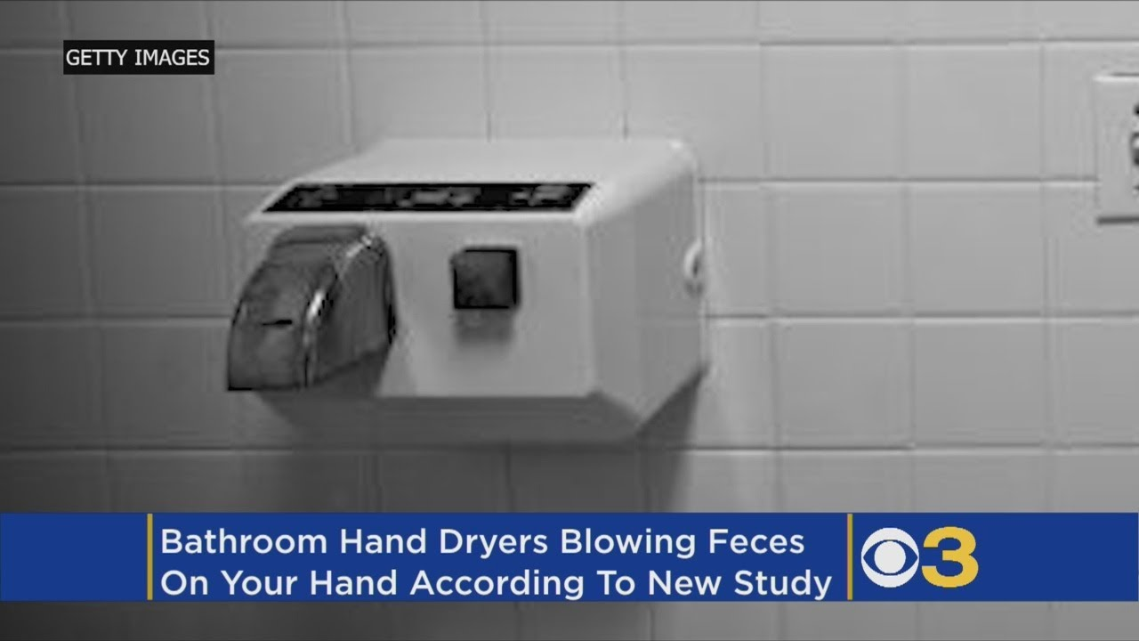 Bathroom Hand Dryers Spray Feces Particles On Your Hands Study Says