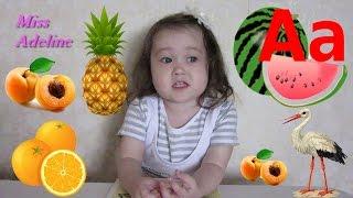 Развивающие занятия для детей 3 лет. Учим буквы. Русский алфавит. Грамматика для детей 3 лет. Урок 1