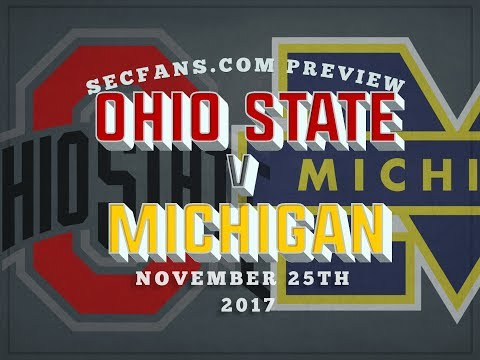 Ohio State vs Michigan - 2017 Preview & Predictions - College Football - OSU v MICH