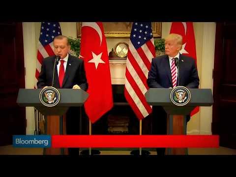 Erdoğan Trump'a Ayar Veriyor Tramp'ın Yüzüne Dikkat!