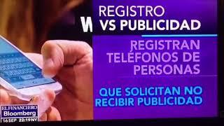 ¿Qué hacer para no recibir llamadas publicitarías? Entrevista a a Rodrigo Escartín en el Financiero