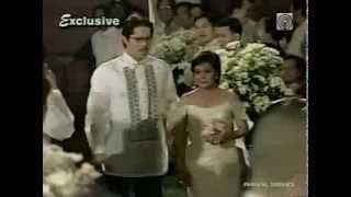 Matet de Leon Wedding Part 1 with Nora Aunor