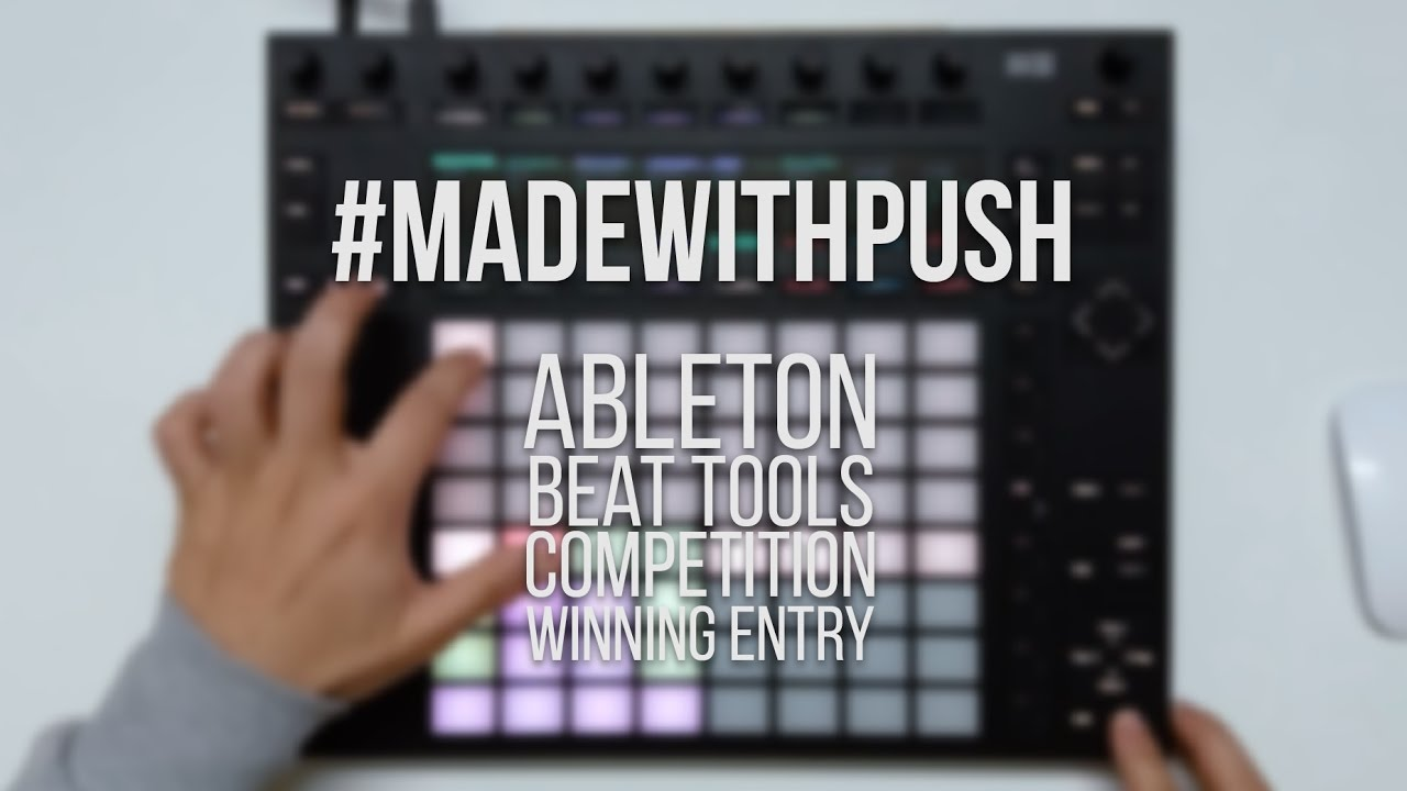 Ableton - Beat Tools Competition | Winning Entry