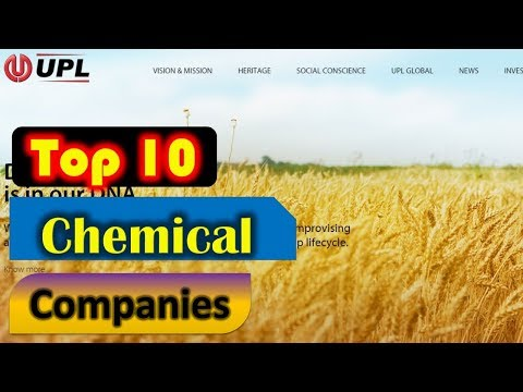 Top 10 Largest Chemical Companies in India By Market Cap 2018