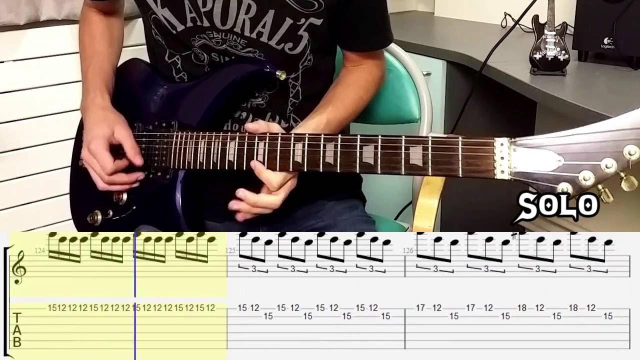 Guitar tabs metallica one
