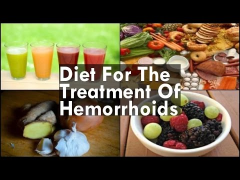 Diet For The Treatment Of Hemorrhoids