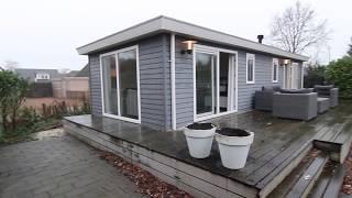 Luxe chalet te koop waterrijk gebied Friesland Idskenhuizen