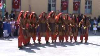 Gaziosman paşa ilkögretim okulu 23 Nisan HaLay Ekibi Tümay Todu 2012 ♫