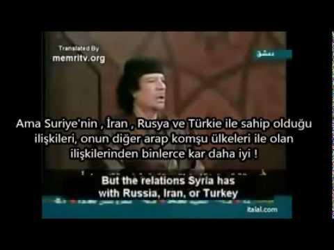Biz Kaddafi'yi Neden Öldürdük