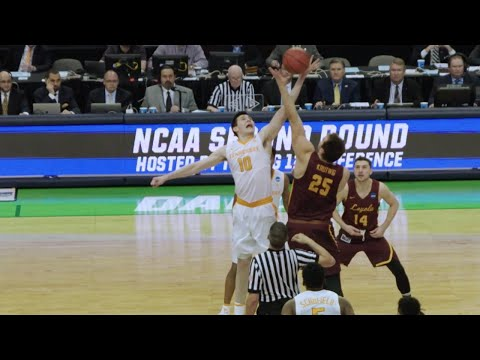 Loyola-Chicago takes down Tennessee in the final seconds