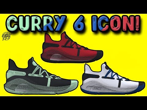Under Armour Curry 6 ICON