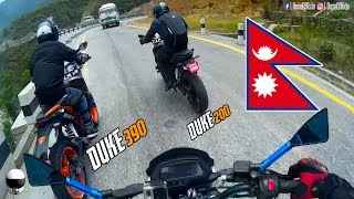 DOMINAR 400 vs. DUKE 390 vs. DUKE 200 (RAW) | HIGH SPEED CHASE | MOTOVLOG [EP#30]