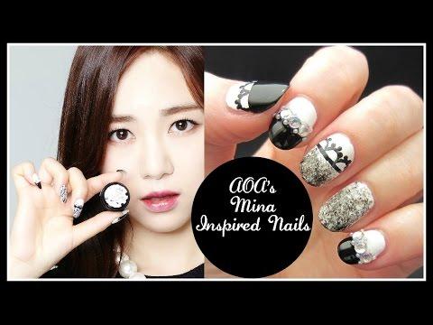 K style nail art