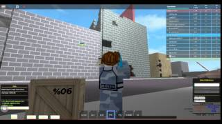 I took down a helicopter with c4! Urban patrol ROBLOX