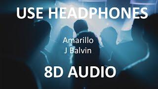 J Balvin - Amarillo ( 8D Audio ) 🎧