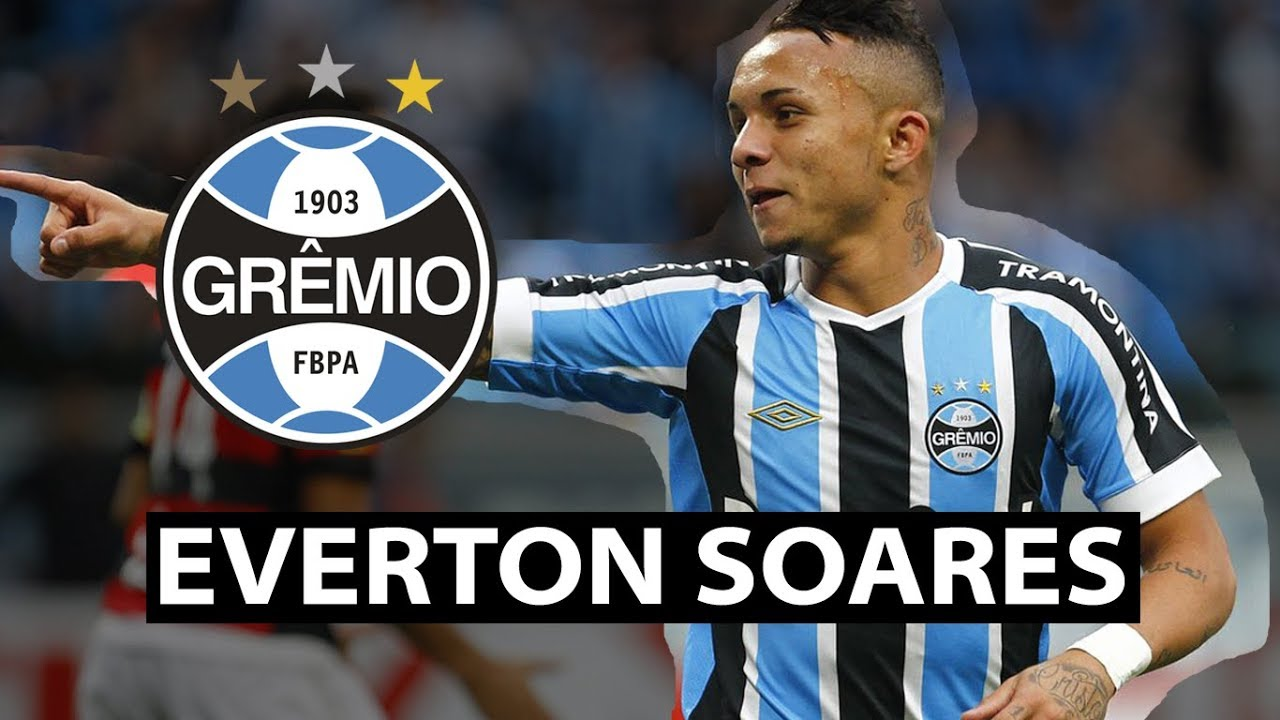 Everton Soares A Rising Star Youtube