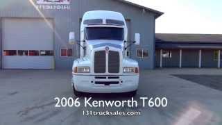 2006 Kenworth T600 White