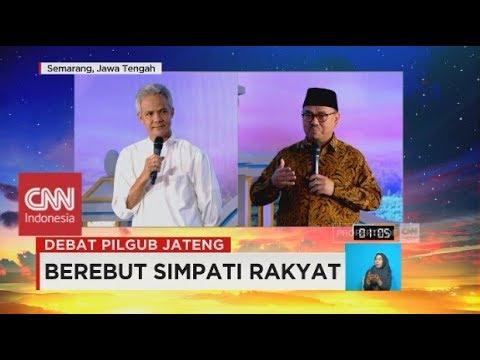 Debat Pilgub Jateng 4/5: Ganjar Pranowo & Sudirman Said Soal E-KTP