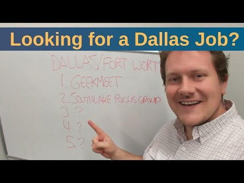Top 5 Resources For Finding Dev Jobs In Dallas