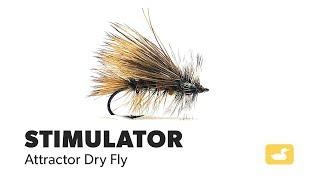 6  Orange Stimulator Size 14 Fly Fishing Brookside Stimmie Dry Flies Attractors