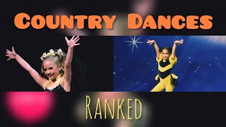 Dance Moms Country Dances Ranked