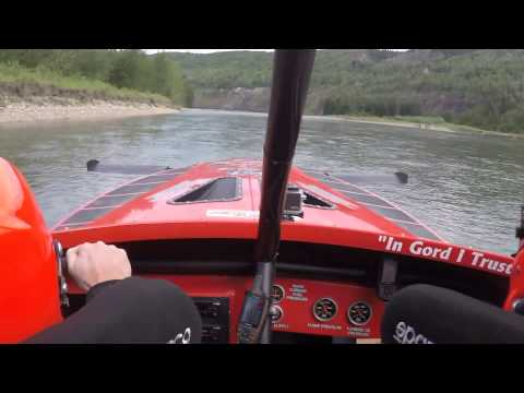 Jet boat races in Taylor - 2015 World Marathon