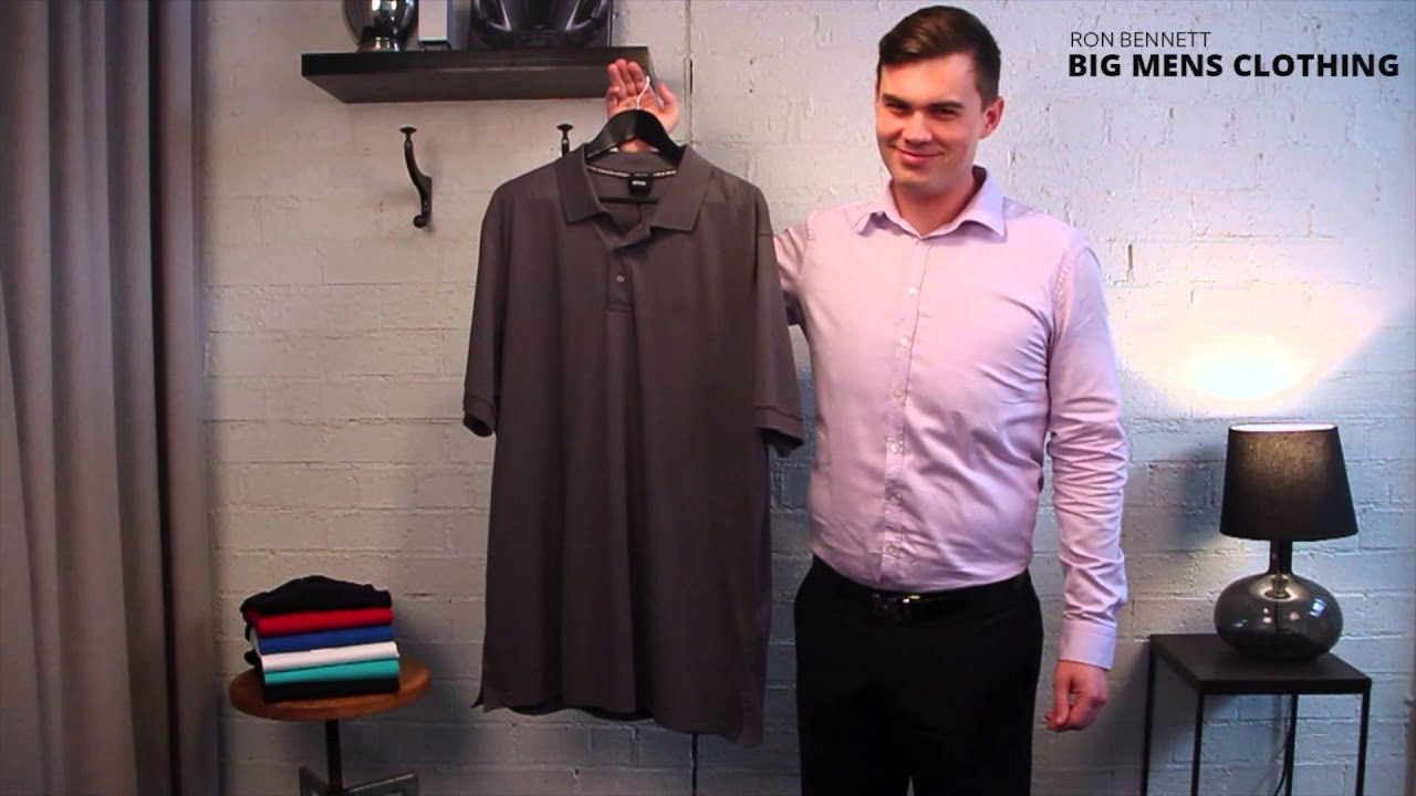 Hugo Boss Polo - BIG MENS CLOTHING - YouTube