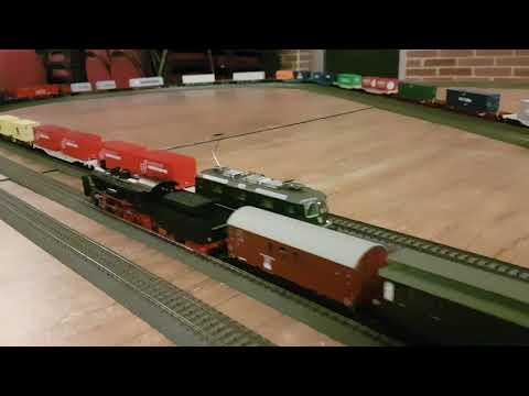 Modelleisenbahn 8: H0 Treffen der MIST 47 in Kamp Lintfort