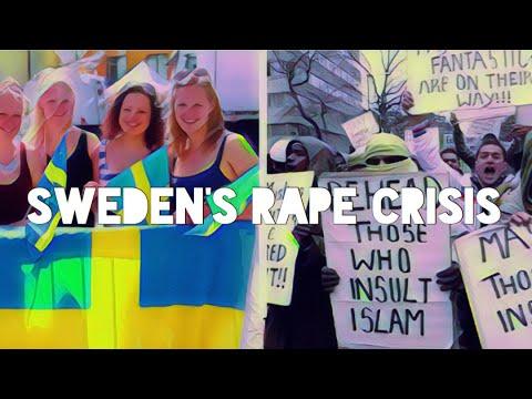 High crime in Sweden Backwards progression