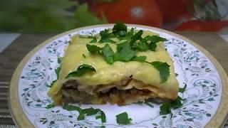 Ленивая лазанья из лаваша. Сочная и вкусная лазанья с фаршем
