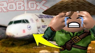 ROBLOX #222-I CRASHED BY PLANE! -Tycoon
