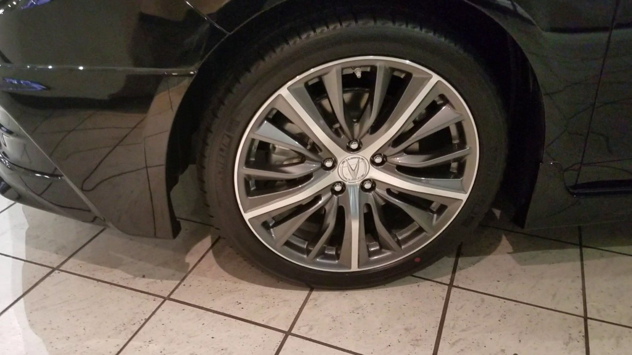 Accessory Wheels For The Acura TLX MS YouTube - Acura wheels