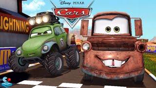 Disney Cars Tow Mater vs Lightning McQueen RS500 Racer Monster Trucks Guido Ice (Disney Pixar Cars)