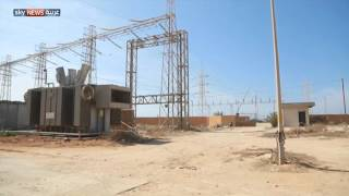 الشرق الليبي يعاني انقطاع الكهرباء