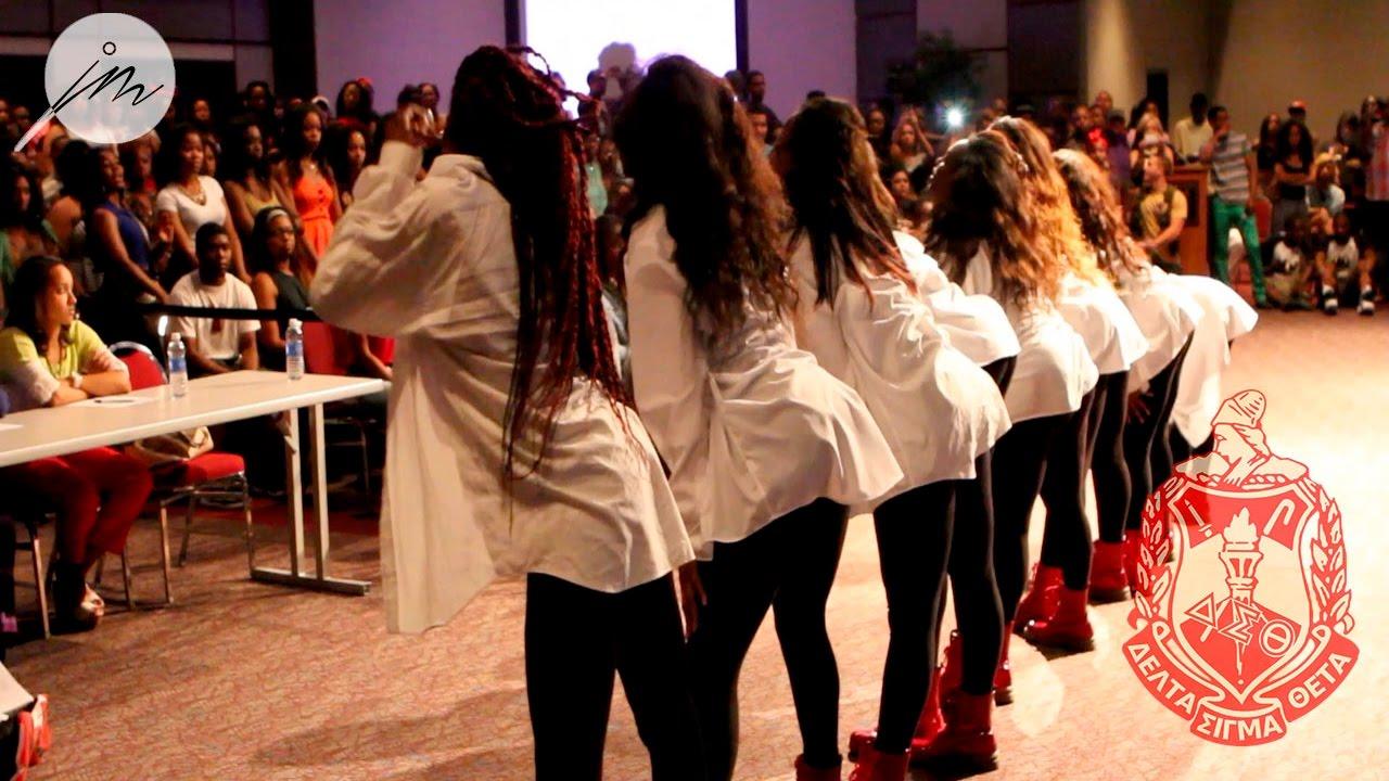 GirlsDElta 53 #KnuckIfYouBuckStrollOff: Delta Sigma Theta Sorority, Inc. at University of  Texas San Antonio