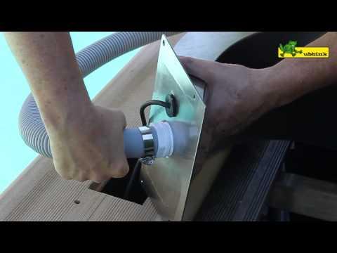 Ubbink wasserfall mamba led youtube for Wasserfall mamba