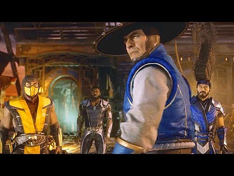 MORTAL KOMBAT 11 Story All Cutscenes Movie So Far